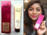Lakme 9 To 5 Color Transform CC Cream Review, Swatches