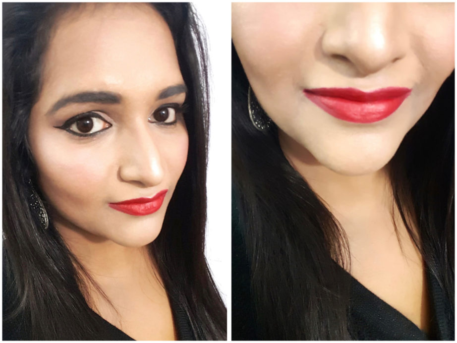 Lakme Enrich Matte Lipstick RM 14 Review Swatches astha mbf