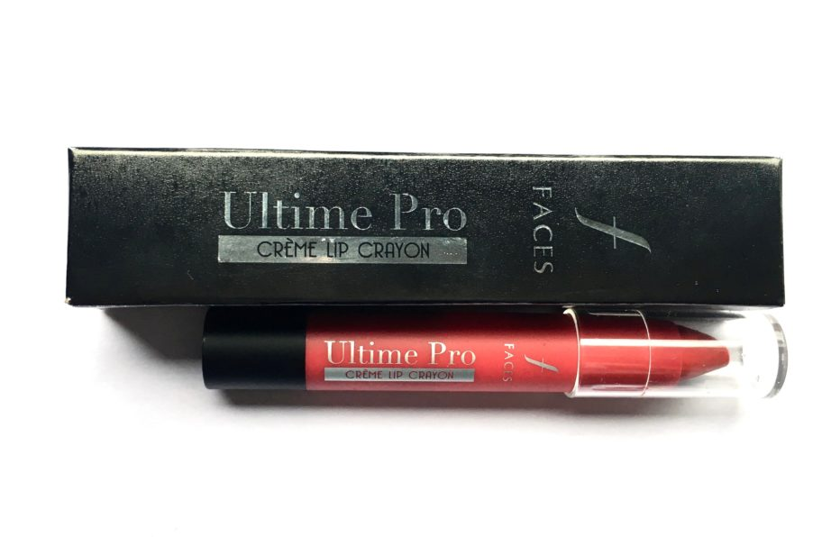 New Faces Ultime Pro Creme Lip Crayon Invincible 04 Review Swatches