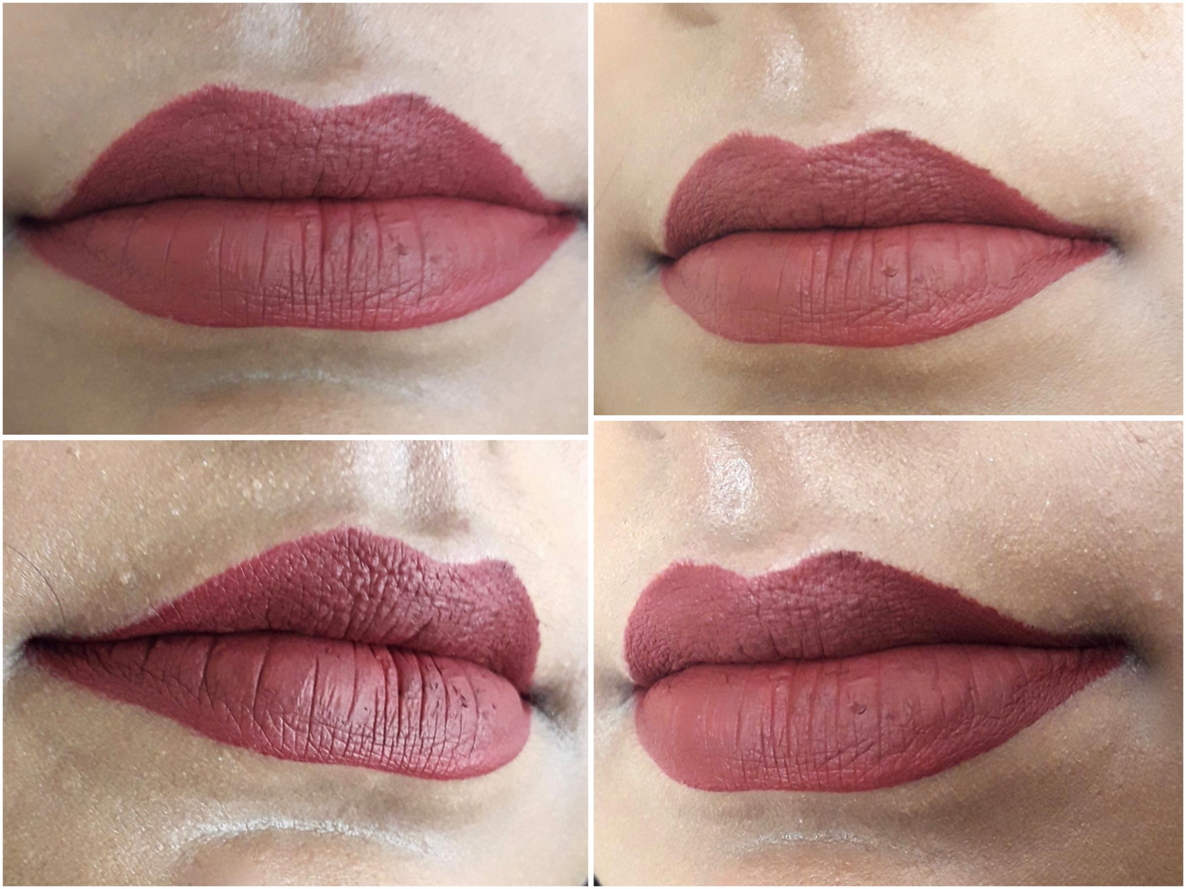Bh Cosmetics Matte Liquid Lipstick Lust Review Swatches