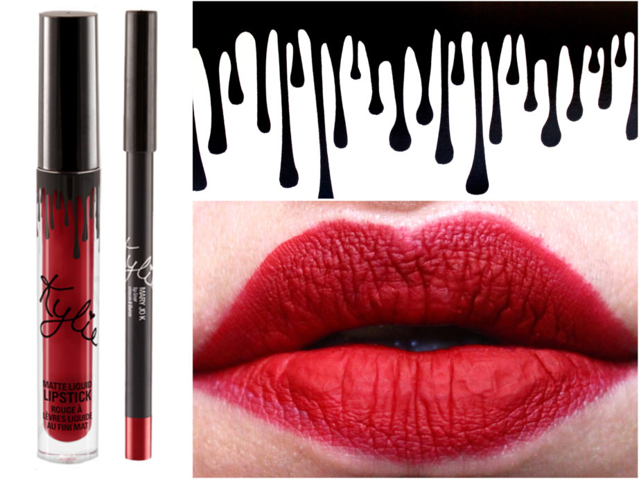 Kylie Jenner Lip Kit Mary Jo K Review, Swatches