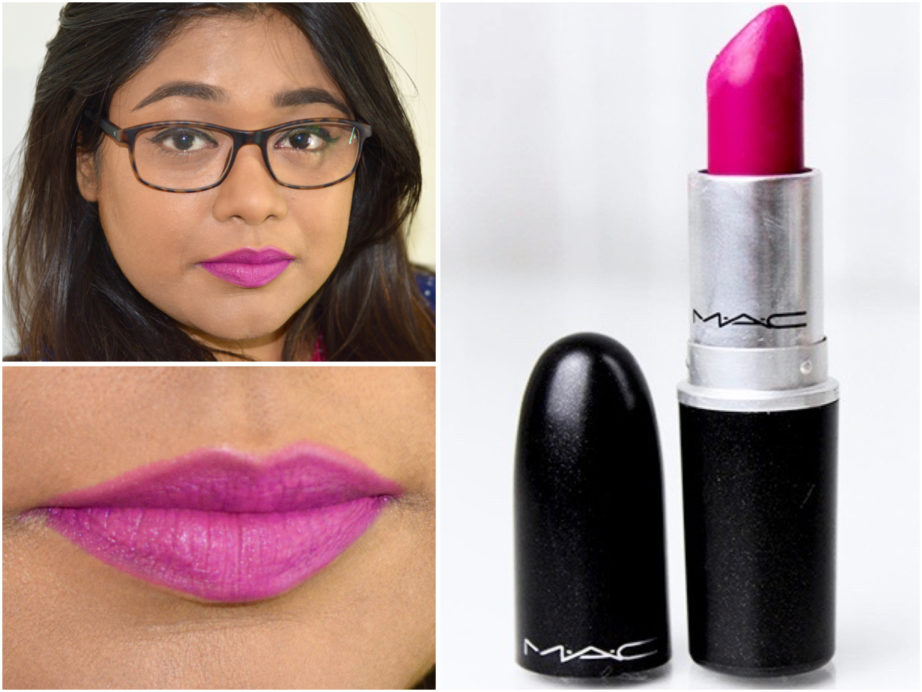 Amato MAC Flat Out Fabulous Retro Matte Lipstick Review, Swatches KY47