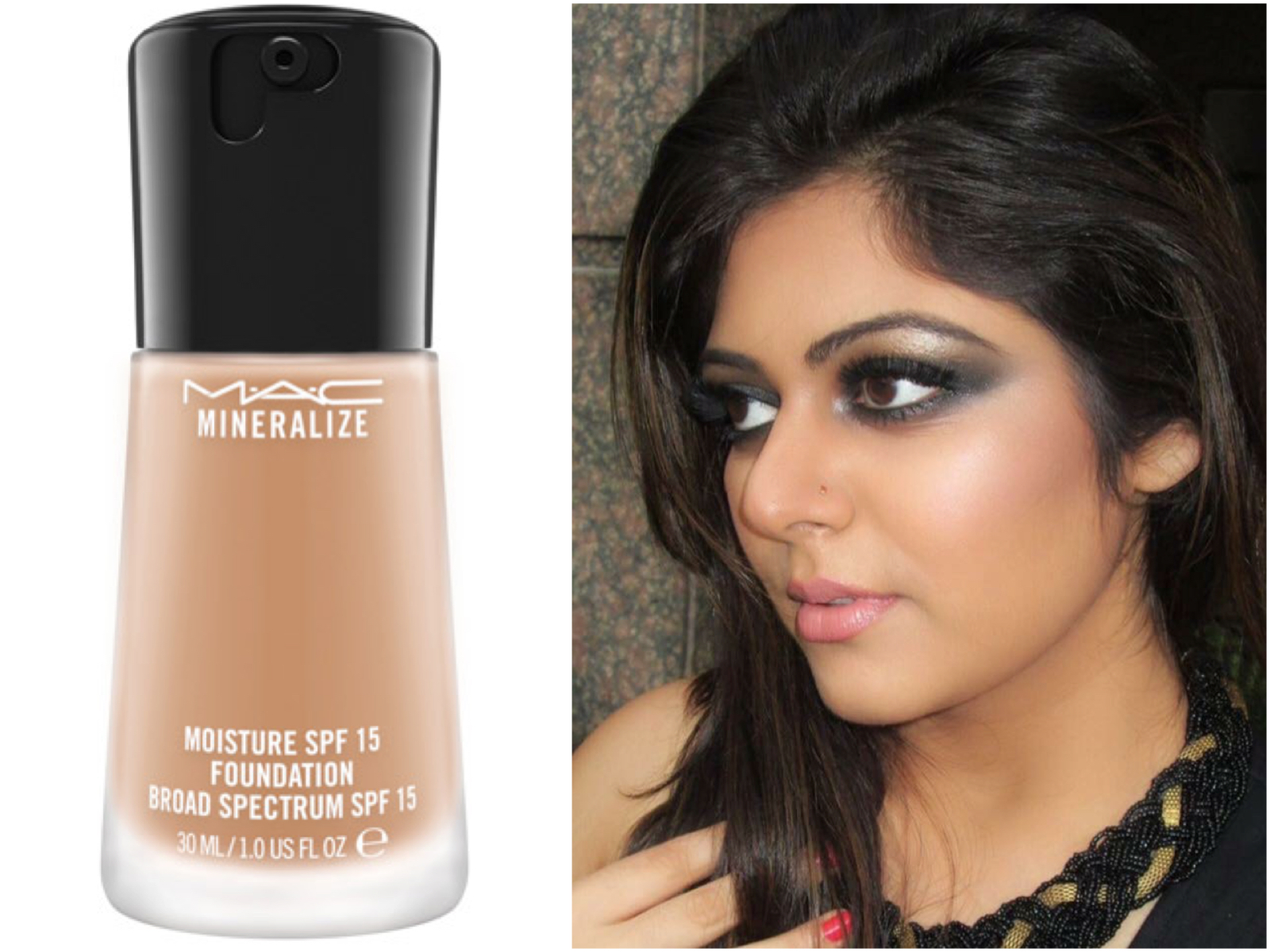 Mac Mineralize Moisture Spf 15 Foundation Review Swatches