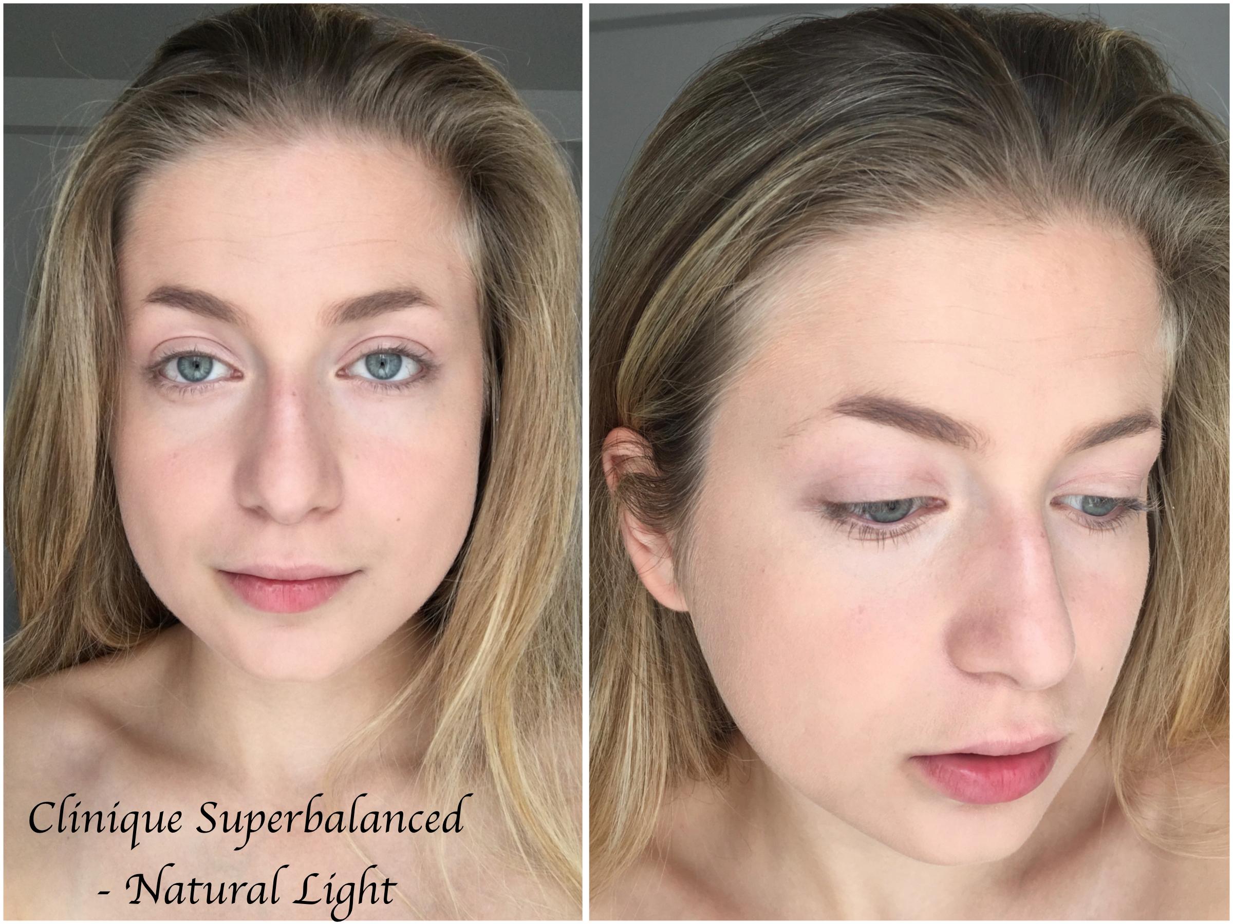 clinique superbalanced makeup foundation review swatches