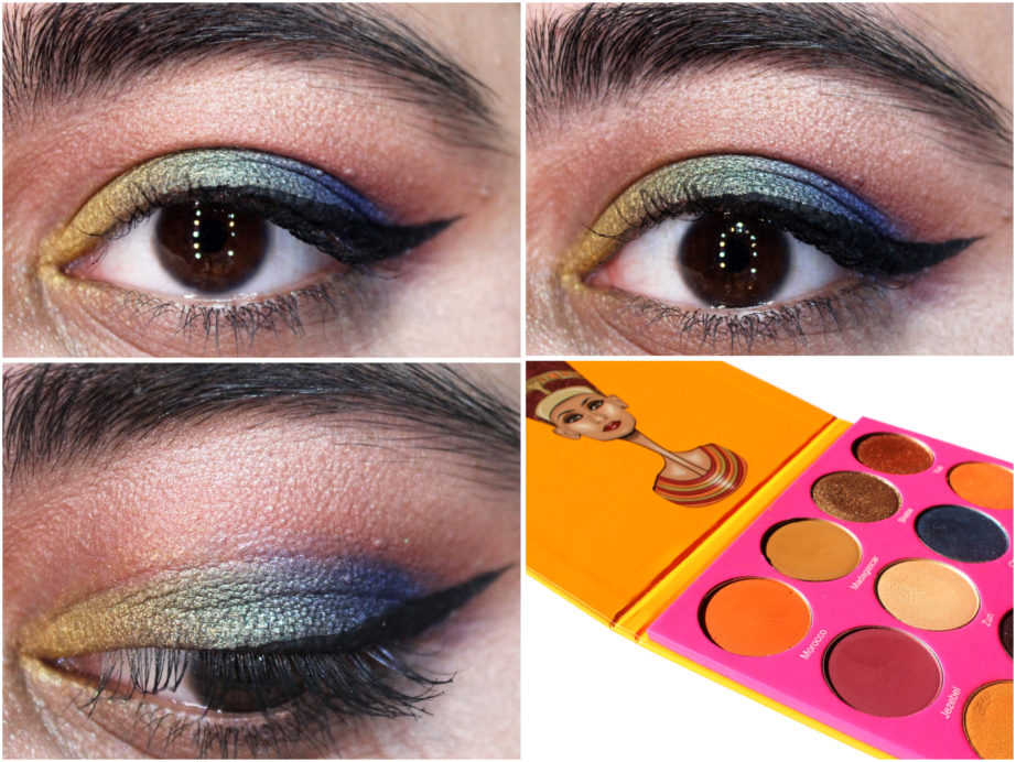 Juvia S Place Nubian 2 Yellow Eye Shadow Palette Review
