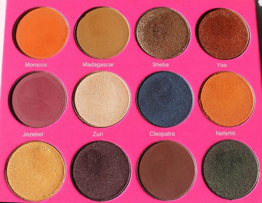 Juvia S Place Nubian 2 Yellow Eye Shadow Palette Review