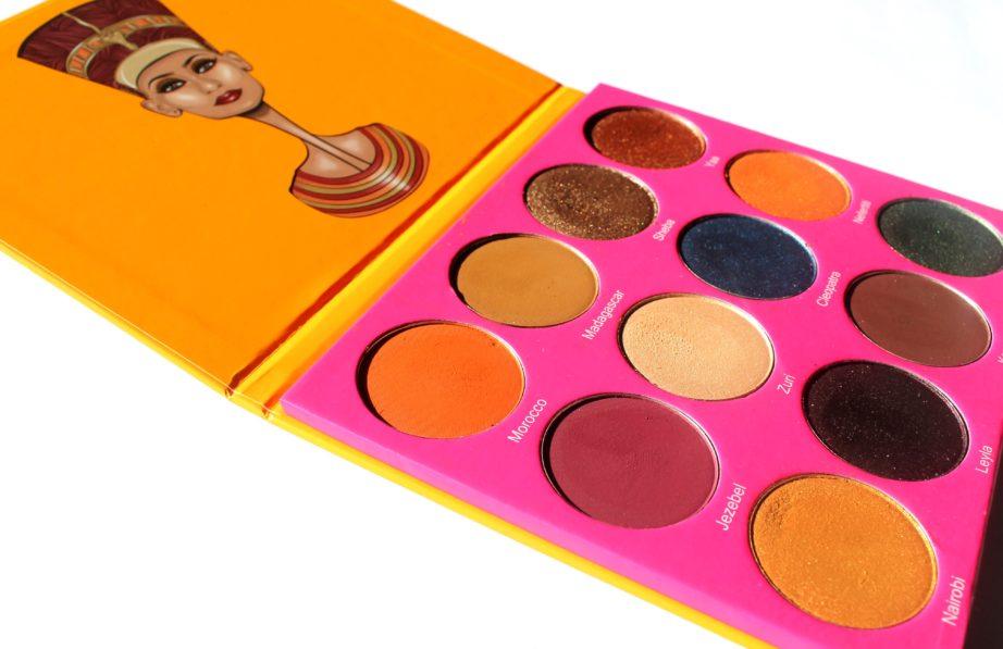 Juvia's Place Nubian 2 Yellow Eye Shadow Palette Review ...