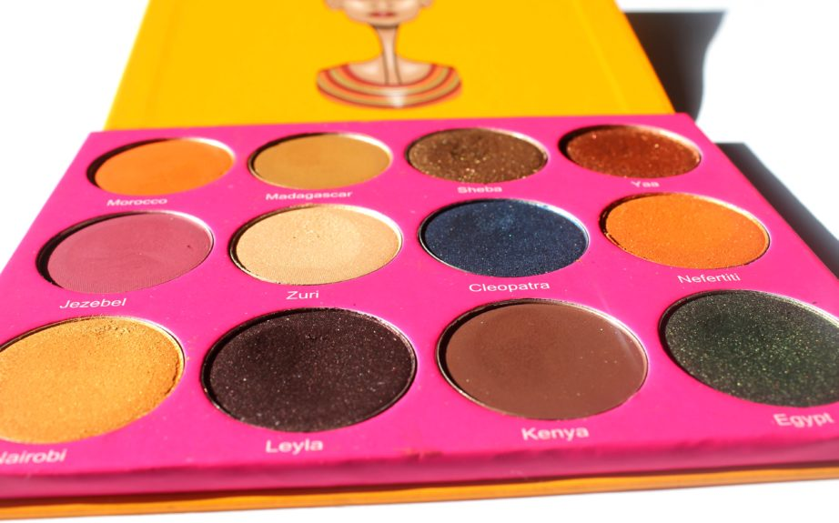 Juviau0026#39;s Place Nubian 2 Yellow Eye Shadow Palette Review Swatche