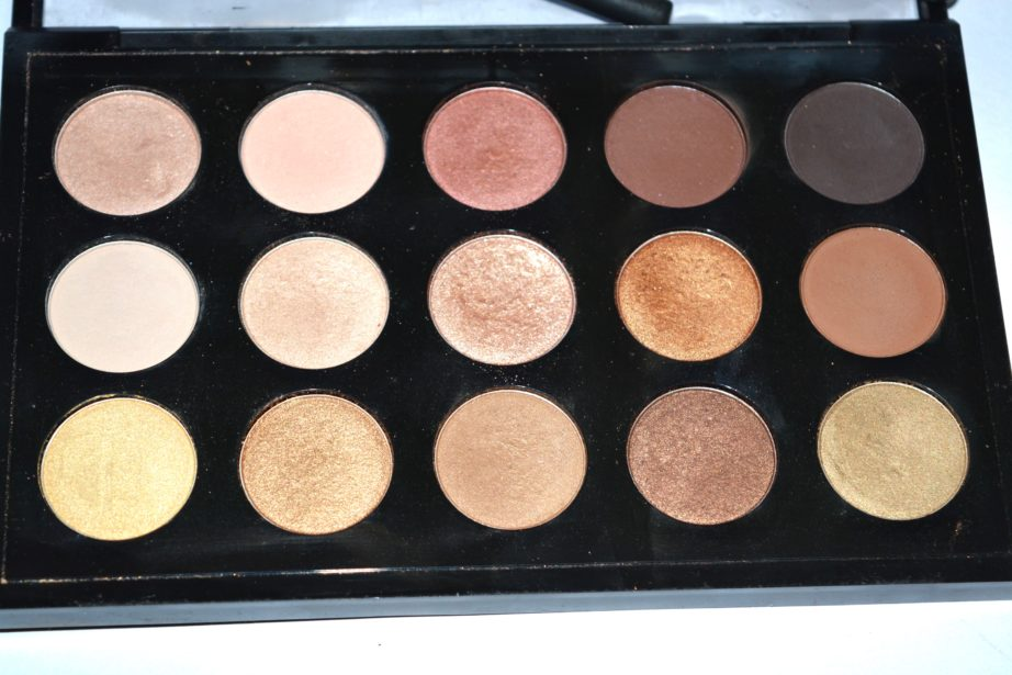 Mac eyeshadow x 15 warm neutral palette review swatches for Warm neutral color palette