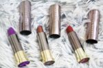 Urban Decay Vice Lipsticks Pandemonium, Conspiracy, Rock Steady Review, Swatches