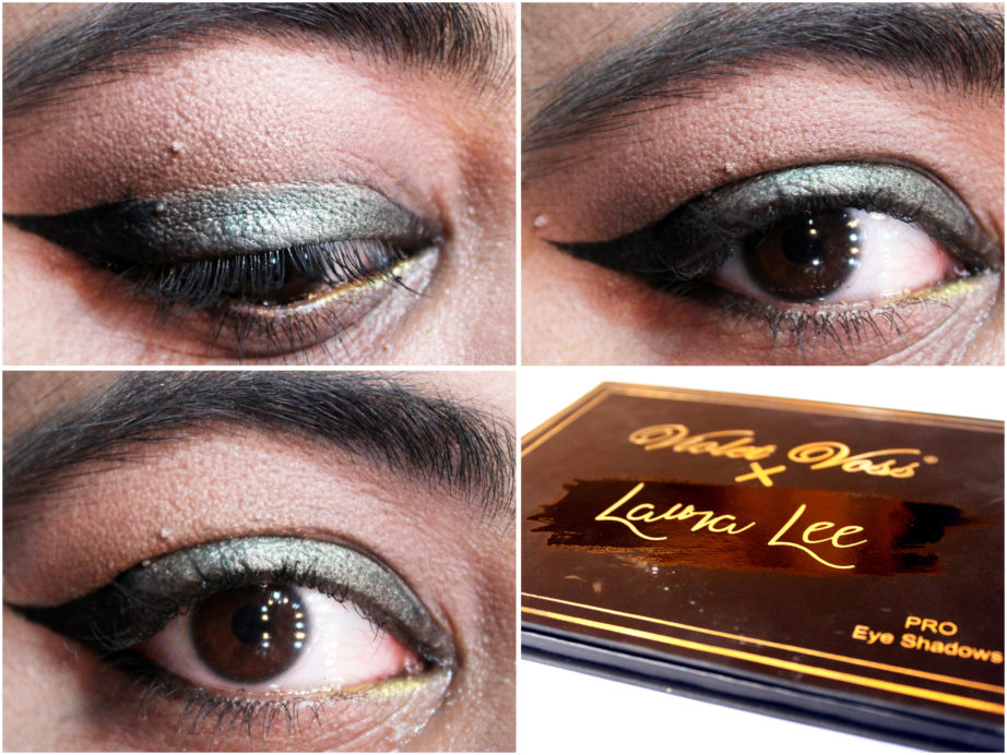 Violet Voss X Laura Lee Eye Shadow Palette Review Swatches