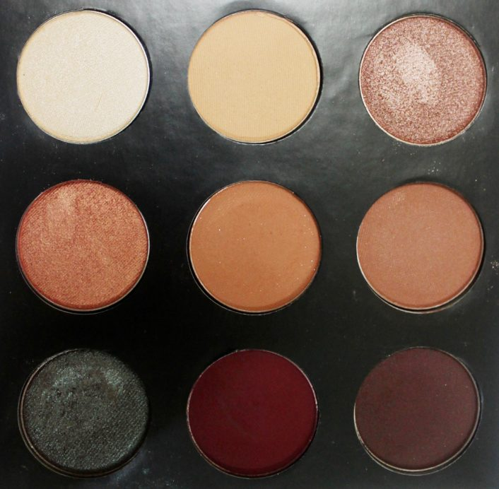 Makeup Geek Manny Mua Eyeshadow Palette Review, Swatches