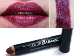 Maybelline Color Drama Intense Velvet Lip Pencil Berry Much Review, Swatches