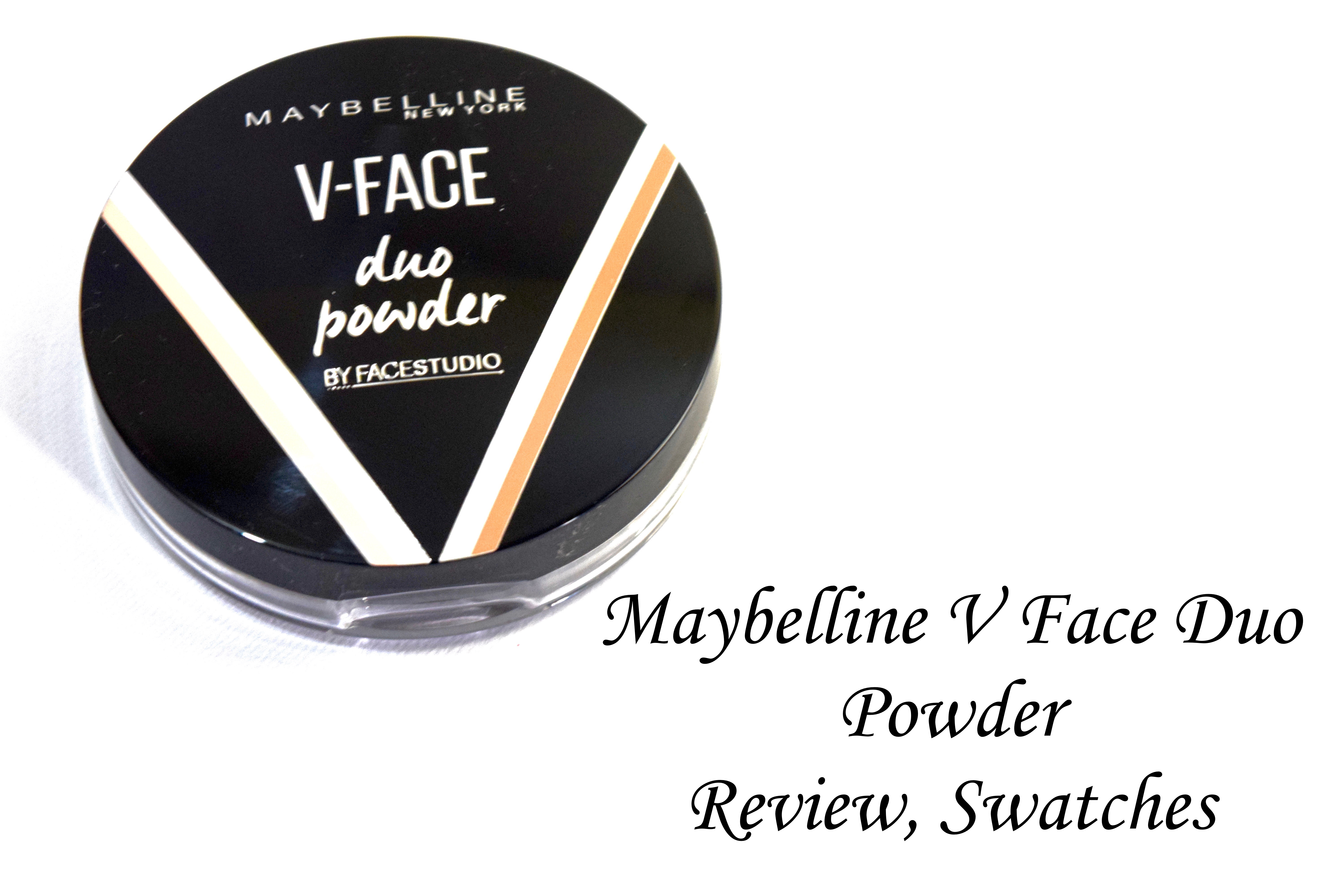 Jual Reviews Newly Launched Maybelline V Face Duo Stick Meyne Powder Review Swatches 2