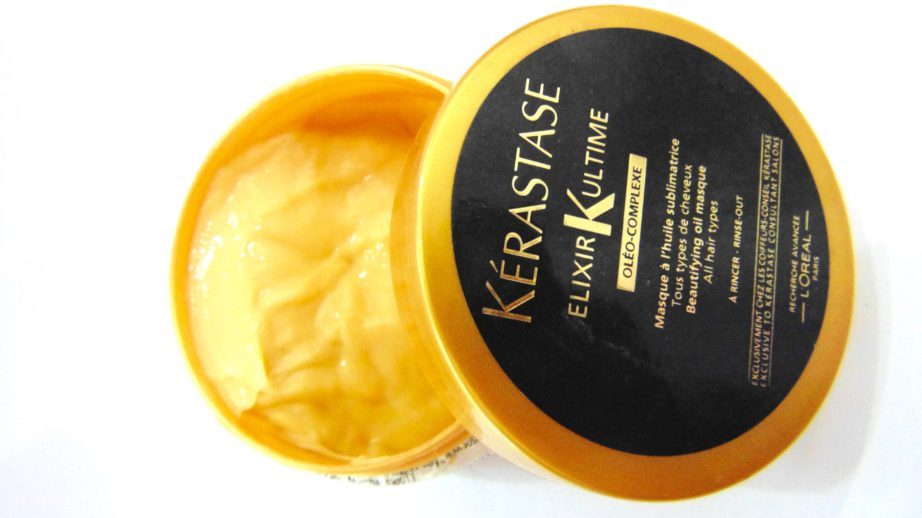 kerastase elixir ultime beautifying oil masque review. Black Bedroom Furniture Sets. Home Design Ideas