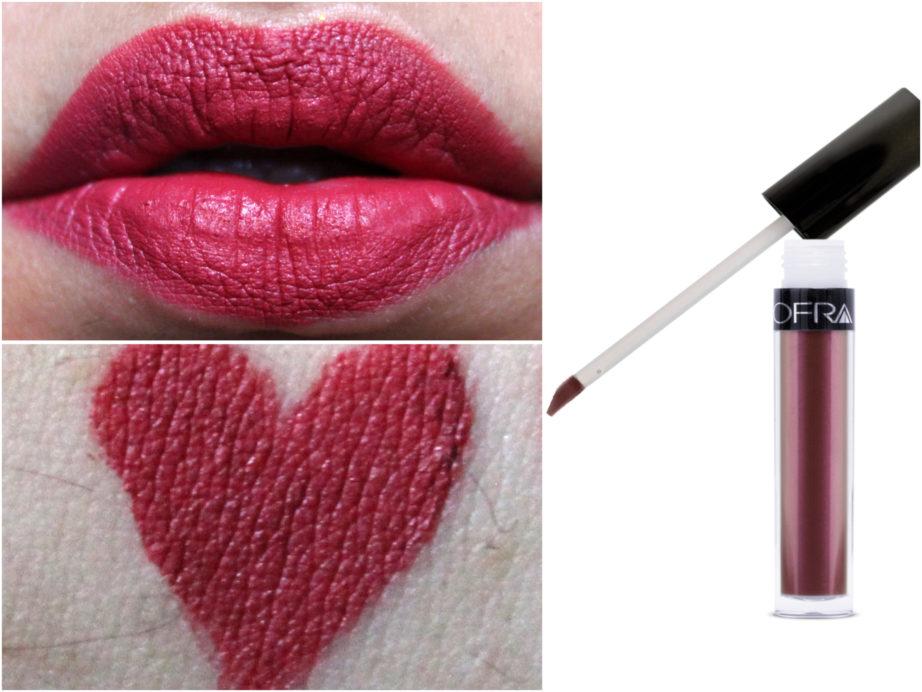 Long Lasting Liquid Lipstick by ofra #7