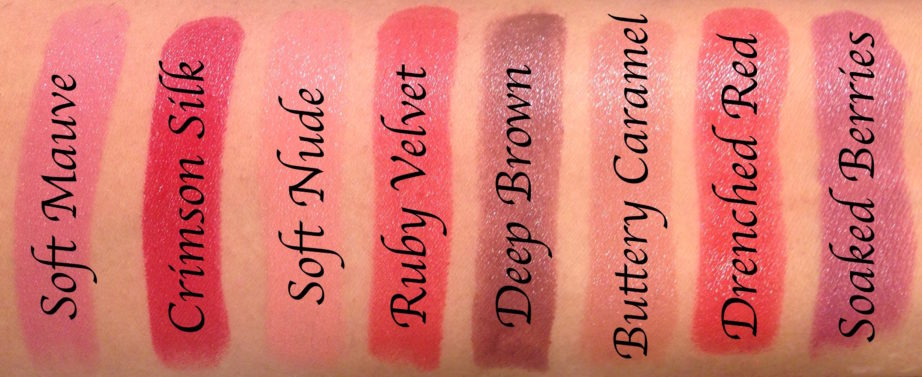 All Lakme Absolute Argan Oil Lip Color Lipsticks 15 Shades ...