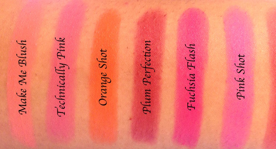 All Maybelline Powder Matte Lipsticks Shades Review Swatches
