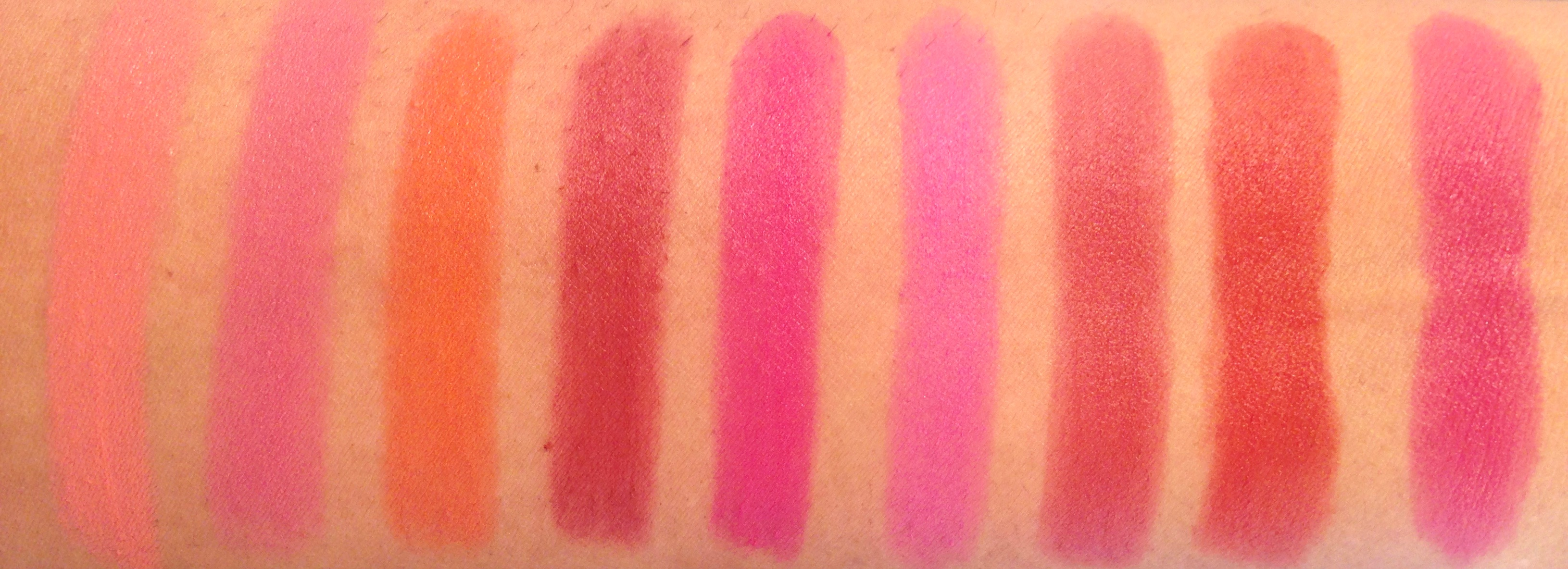 Maybelline Pink Me Up Swatch