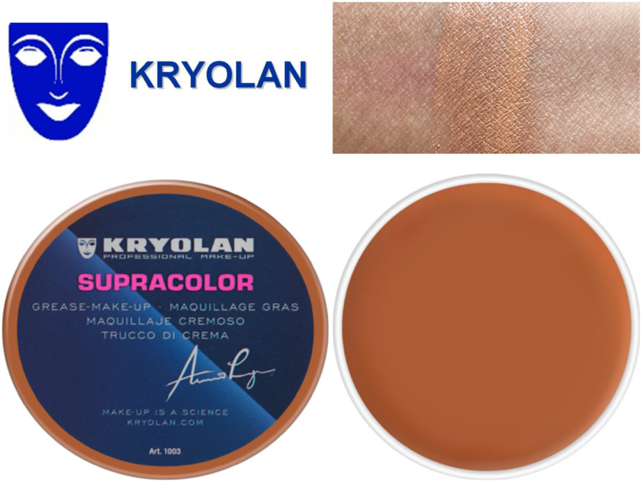 Kryolan Supracolor Shade Le Review Swatches