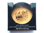 L.A. Girl Pro Face HD Matte Pressed Powder Review, Swatches