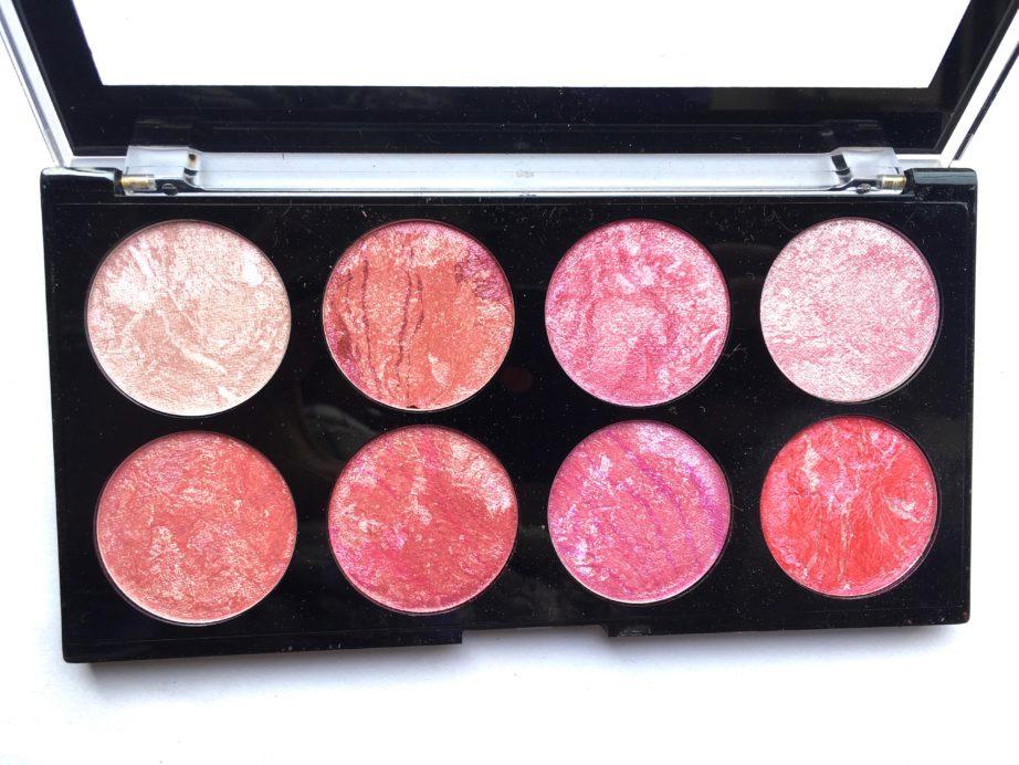 Makeup revolution blush queen palette review