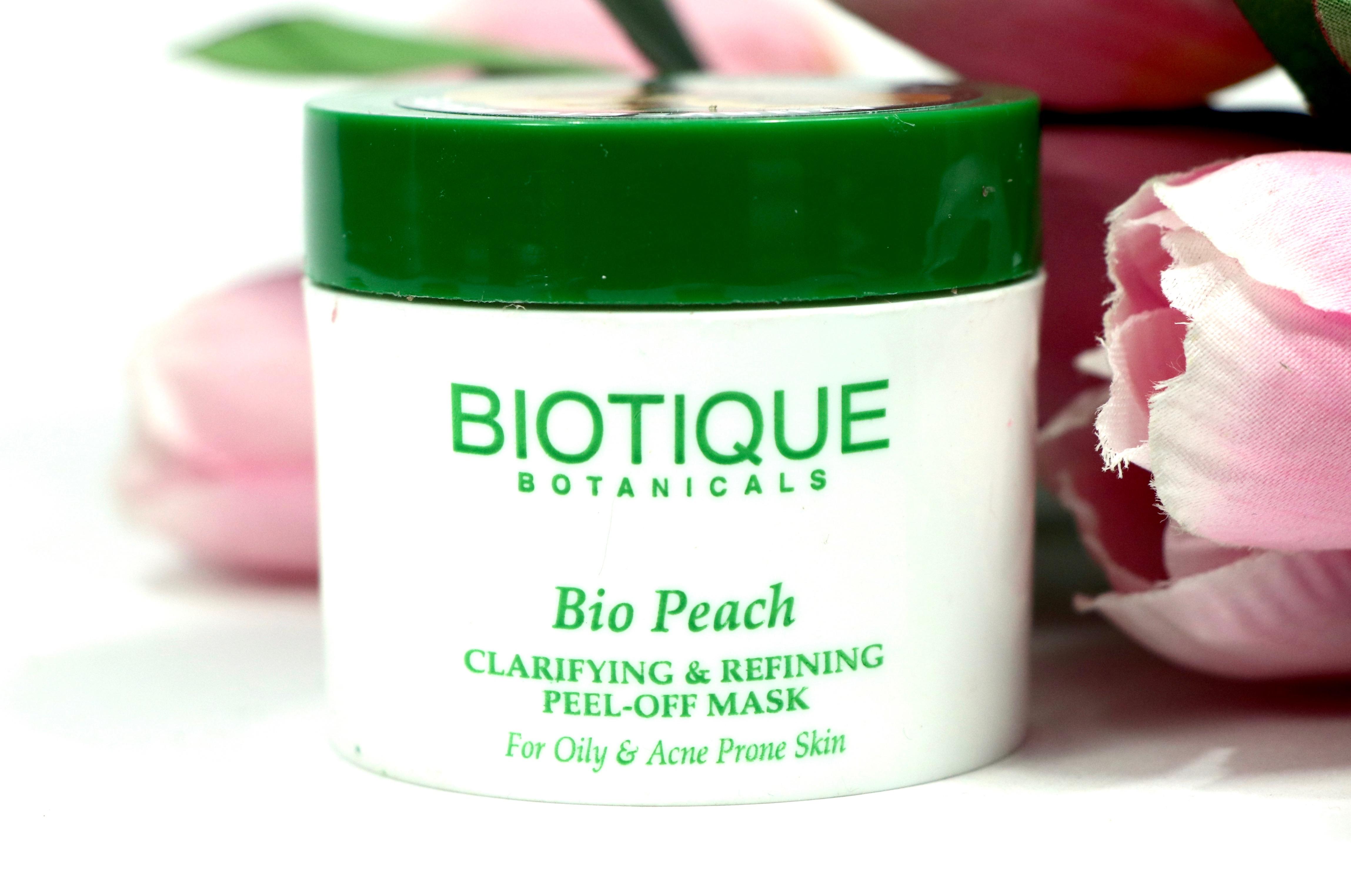 Biotique Bio Peach Clarifying Amp Refining Peel Off Mask