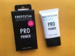 Freedom Pro Makeup Primer Review, Swatches