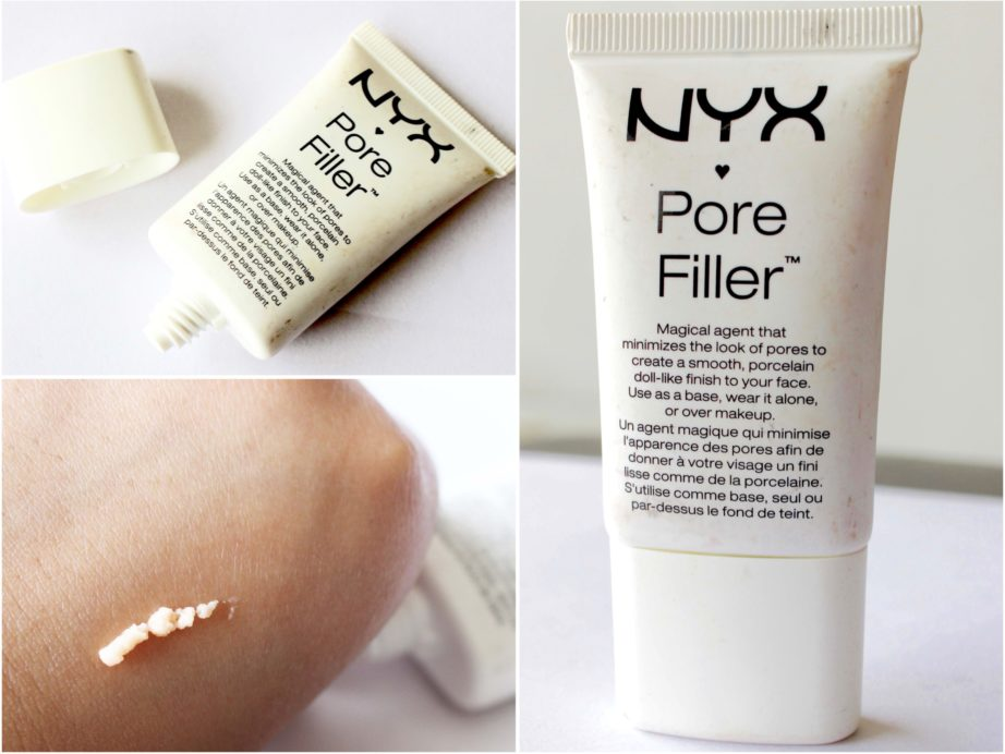 NYX Pore Filler Makeup Primer Review, Swatches
