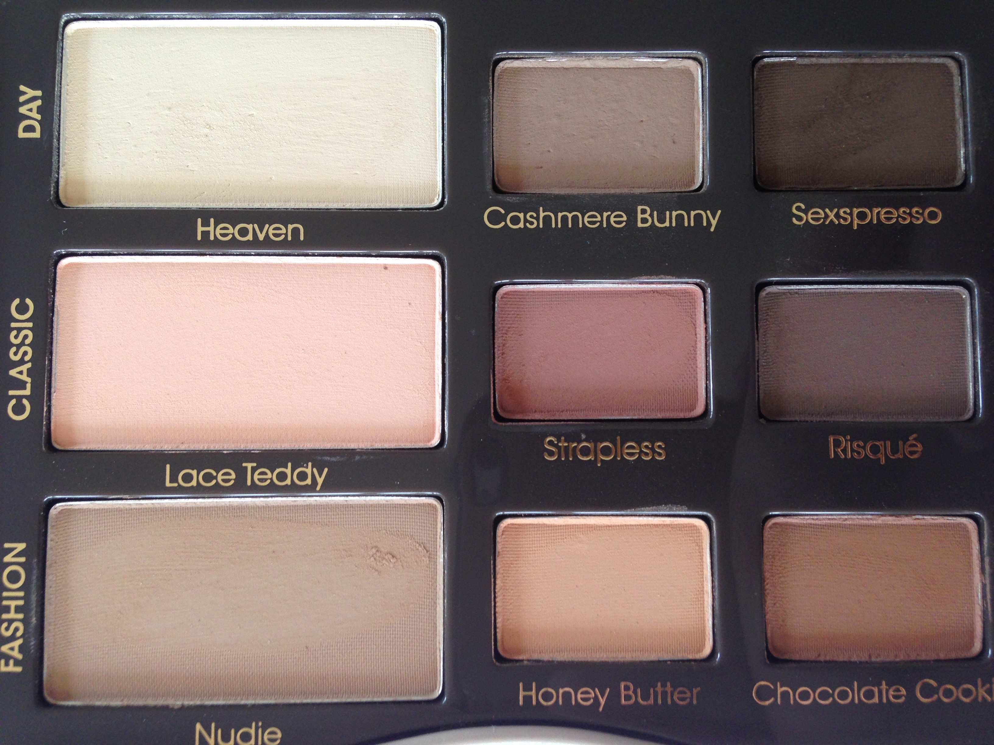 Too Faced New Natural Eye Palette Review