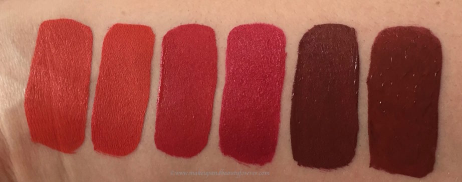 All Jeffree Star Velour Liquid Lipsticks Shades Review