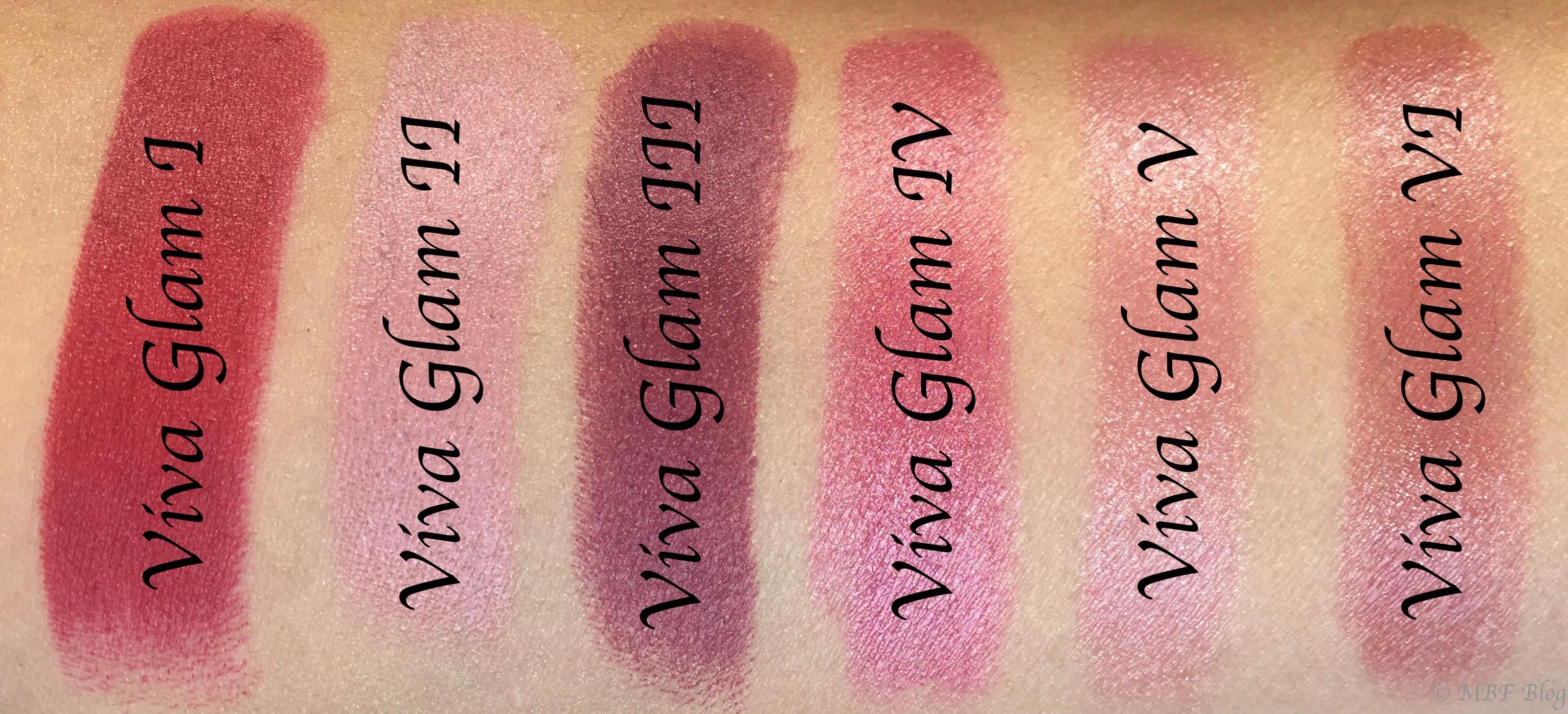 All MAC Viva Glam Lipsticks Shades Review, Swatches Viva ...