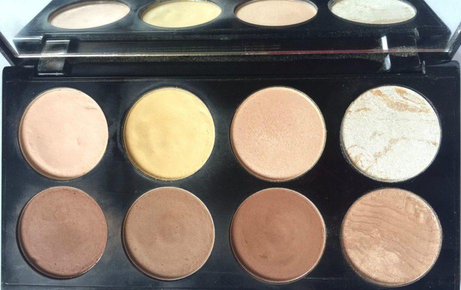 Makeup Revolution Ultra Contour Palette Review Swatches