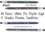 All Faces Ultime Pro Mystic Kajal 4 Shades Review, Swatches