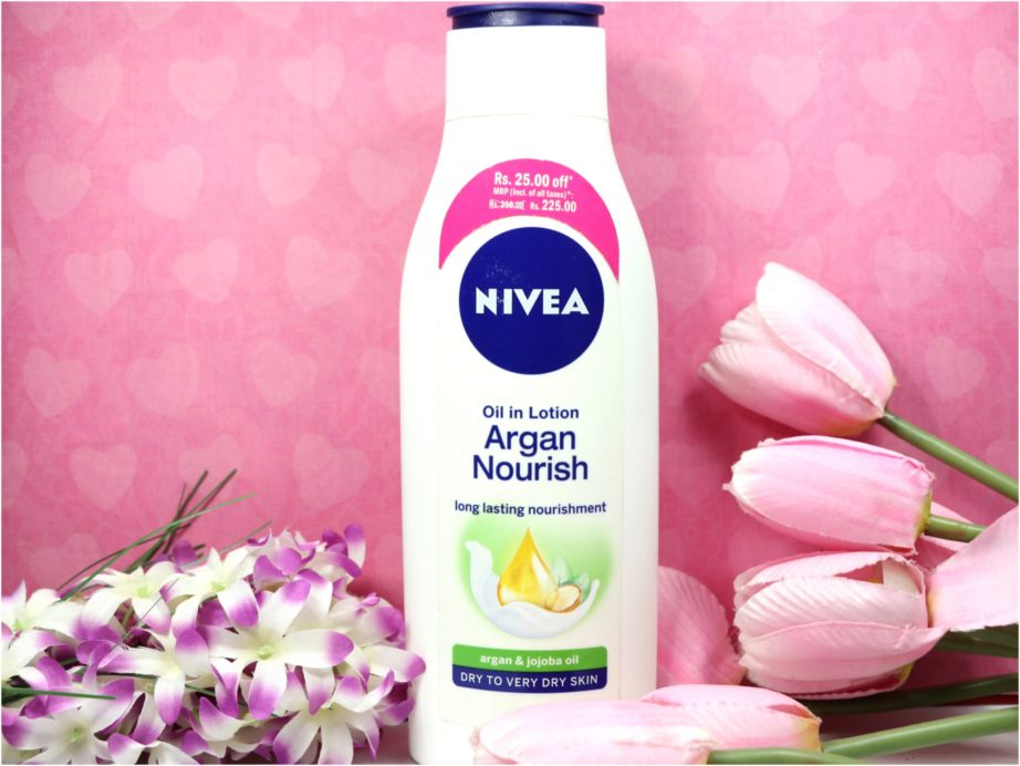 Nivea Oil in Lotion Argan Nourish Body Lotion Review