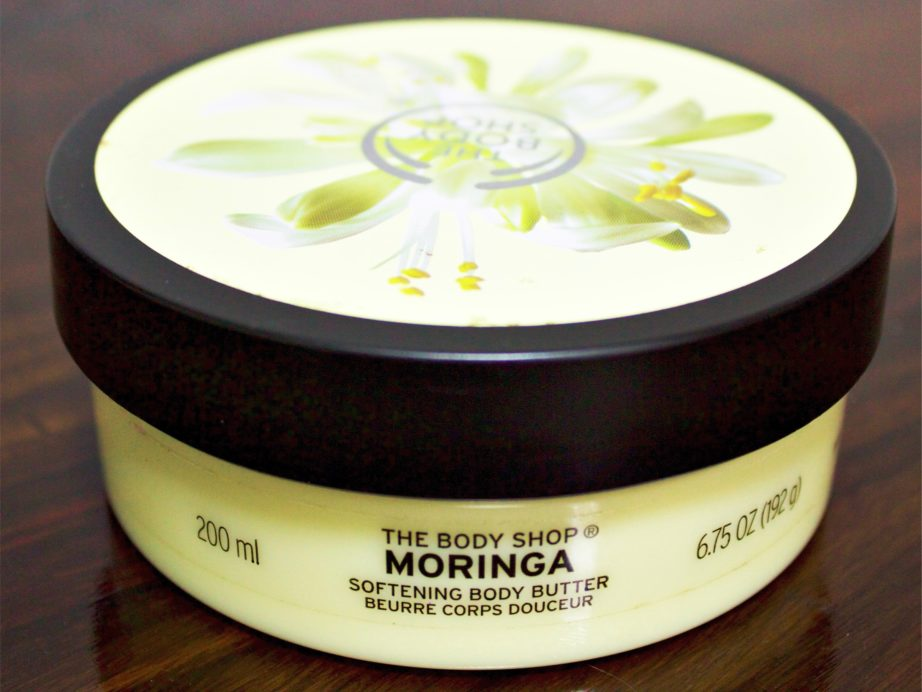 the body shop moringa softening body butter review. Black Bedroom Furniture Sets. Home Design Ideas