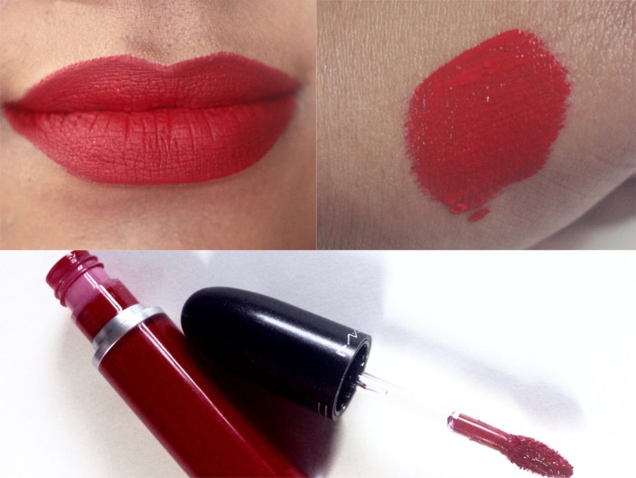 Mac Fashion Legacy Retro Matte Liquid Lipcolour Review Swatches