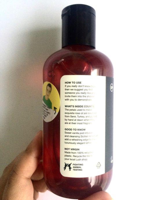 Lush Rose Jam Shower Gel Review