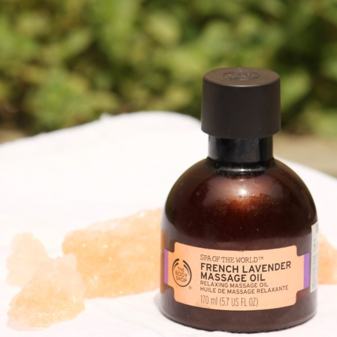 The Body Shop Spa Of The World French Lavender Massage Oil Review