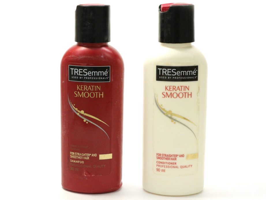 TRESemme Keratin Smooth Shampoo and Conditioner Review ...