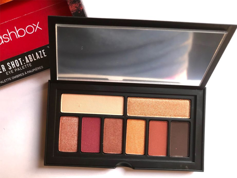 Smashbox Ablaze Cover Shot Eye Palette Review, Swatches