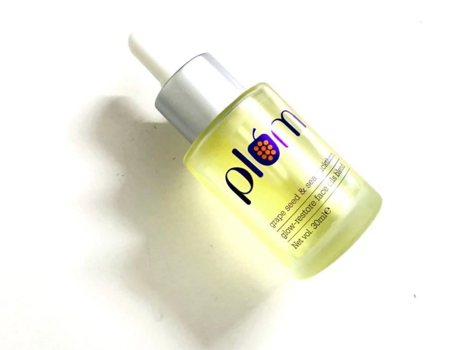 Plum Grape Seed & Sea Buckthorn Glow-Restore Face Oils Blend Review MBF
