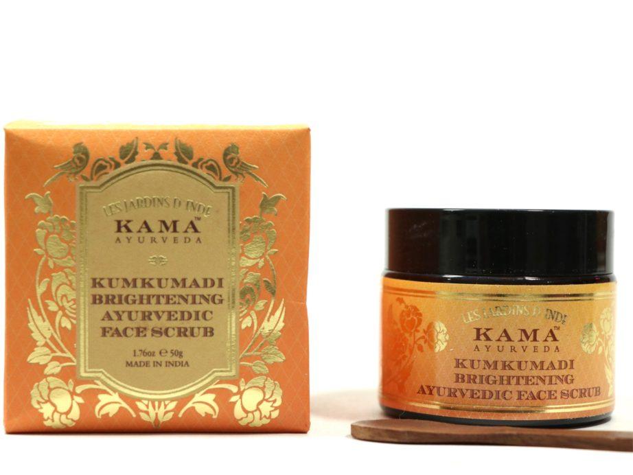 Kama Ayurveda Kumkumadi Brightening Ayurvedic Face Scrub Review