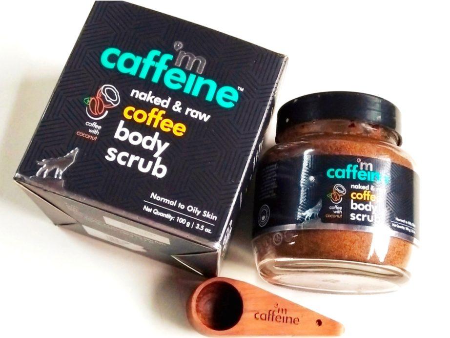 MCaffeine Naked & Raw Coffee Body Scrub Review
