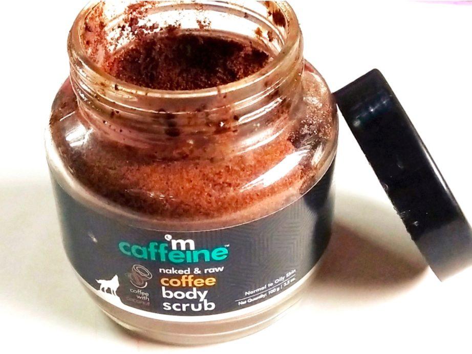 MCaffeine Naked & Raw Coffee Body Scrub Review on MBF
