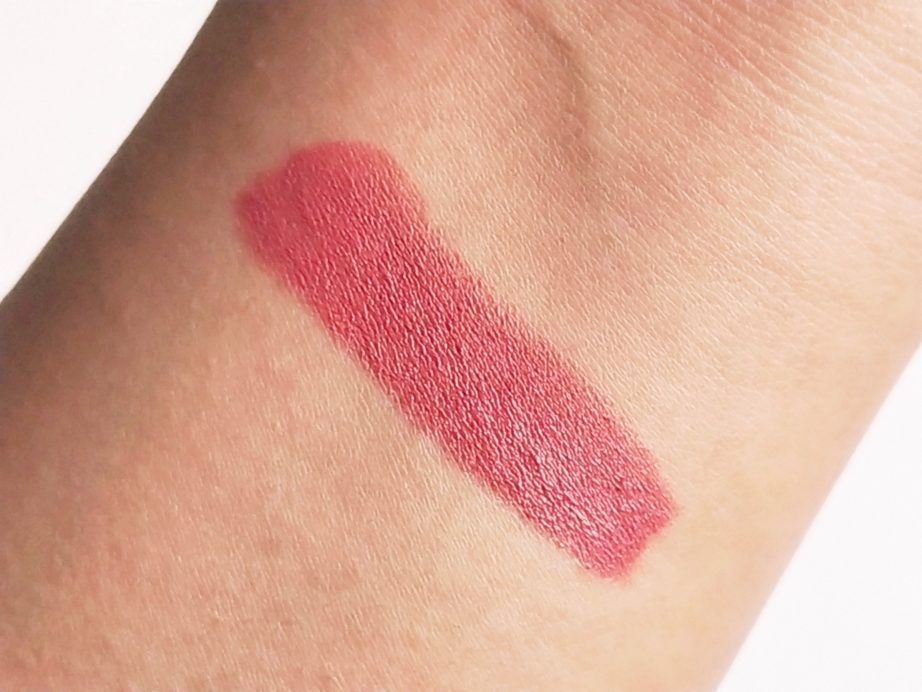 Masaba By Nykaa Lipstick Nimbu Pani Review, Swatches skin