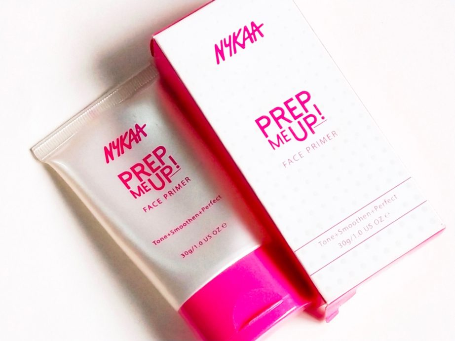 Nykaa Prep Me Up Face Primer Review, Swatches