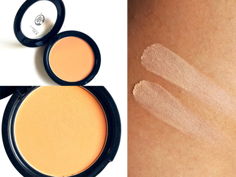 The Body Shop Matte Clay Powder Review, Swatches nc42 skin