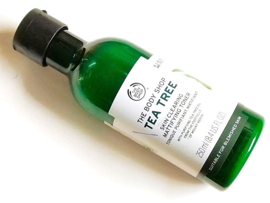 The Body Shop Tea Tree Skin Clearing Mattifying Toner Review