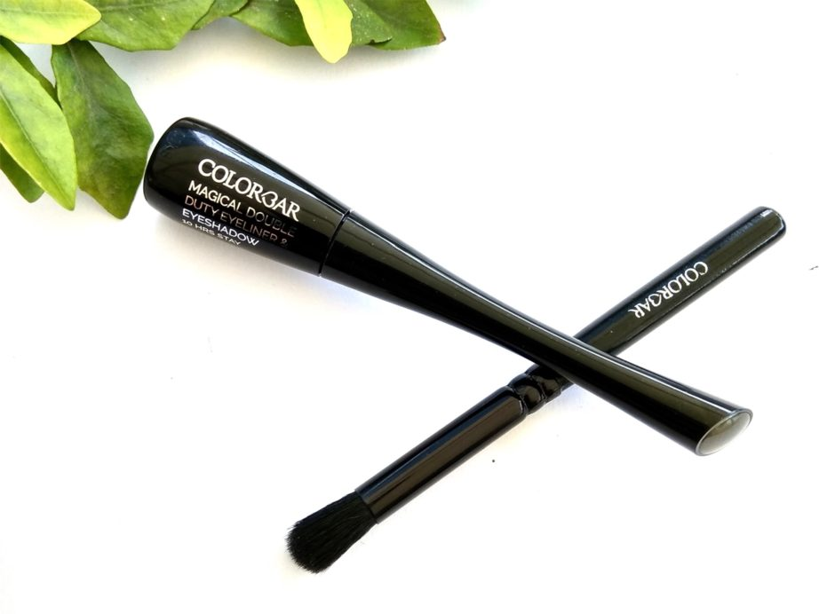 Colorbar Magical Grey Magical Double Duty Eyeliner And Eyeshadow Review, Swatches